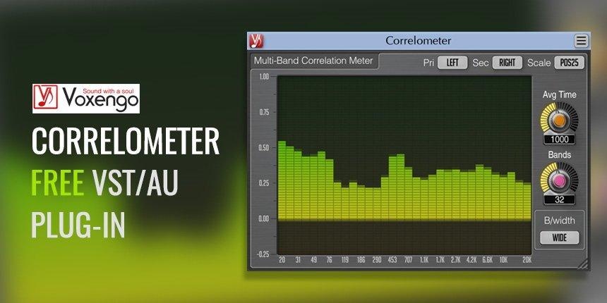 Voxengo Correlometer Free Multi-Band VST Plugin
