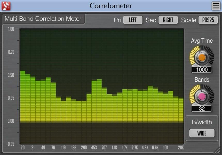 Voxengo Correlometer Free VST Plugin