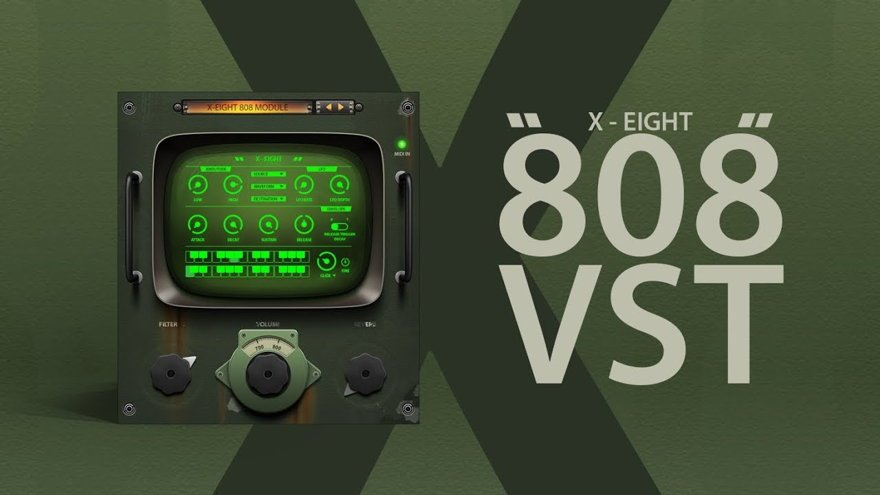 X-EIGHT - 808 VST BASS Plugin