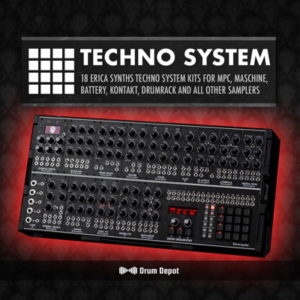 Drum Depot - Techno System - Drum Kits