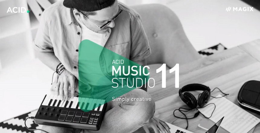 Magix ACID Music Studio 11 DAW