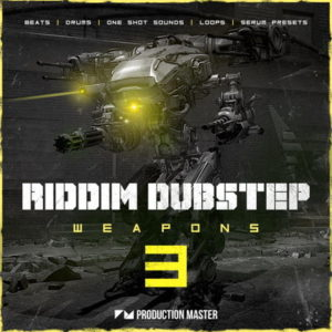 Riddim Dubstep Weapons - Dubstep Sample Pack