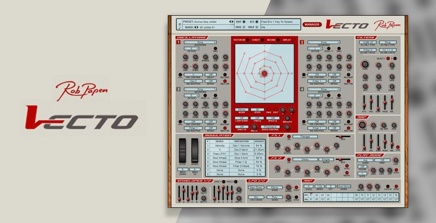 Rob Papen Vecto VST Synthesizer