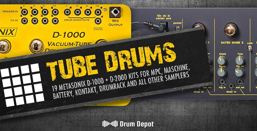 Tube Drums - Metasonix Drum Samples