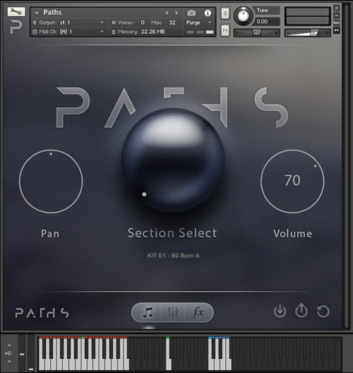 Audiomodern Paths 1 Kontakt Instrument