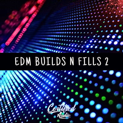 Certified Audio - EDM Builds N Fills 2 - EDM Drum Kits