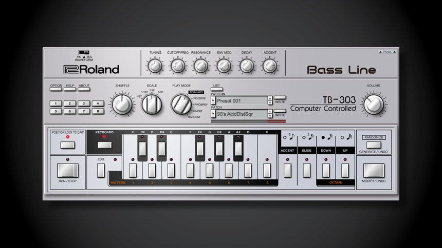 Roland TB-303 VST Plugin Instrument