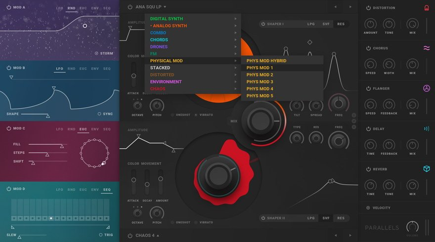 Softube Parallels Synthesizer VST Plugin