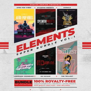 Sonics Empire - Elements Super Bundle Vol.1