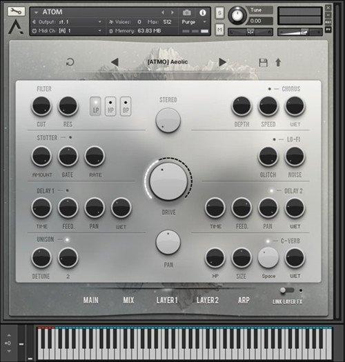 Audiomodern - ATOM Virtual Instrument