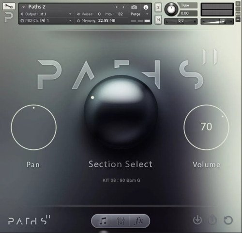 Audiomodern Paths 2 - Cinematic Kontakt Instrument