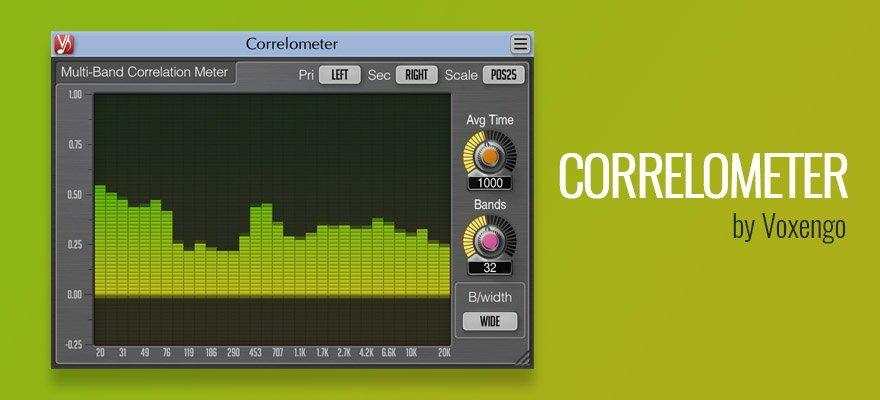 Correlometer - Free VST Plugin