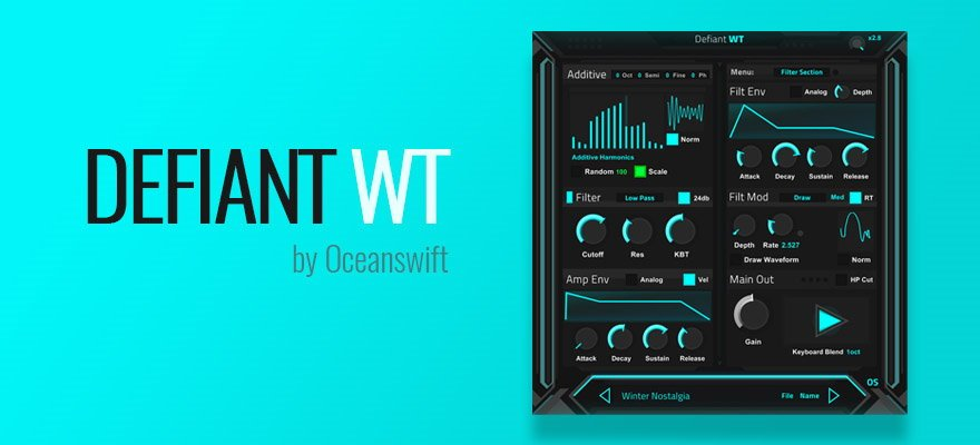 Defiant WT - Free VST Synth Plugin
