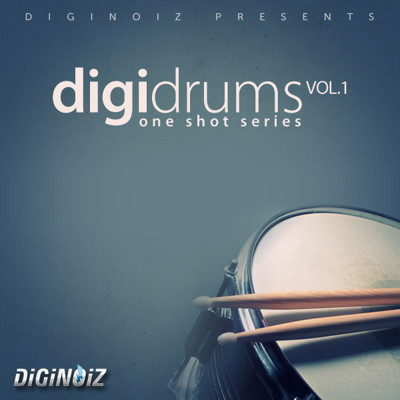 Diginoiz - Digidrums Drum Samples - Drum Kit Vol 1