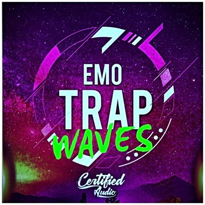 Emo Trap Waves Front - Trap Sample Pack