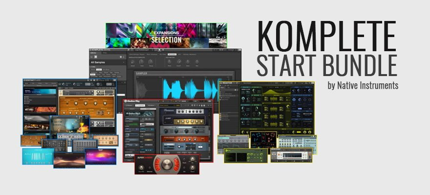 Komplete Start Free VST Plugins Bundle