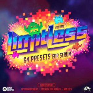 Limitless by MDK - 64 Serum Presets, Wavetables