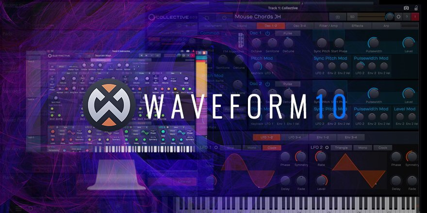 Tracktion Wavefrom 10 DAW Music Software