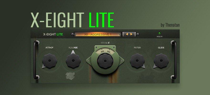 X-Eight Lite - Free Drum VST Instrument
