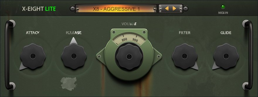 X-Eight X8 Free Bass VST Plugin