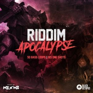 Black Octopus - Riddim Apocalypse - Bass Loops
