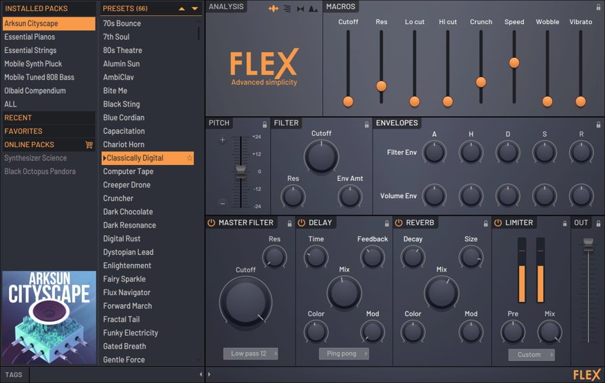 New FLEX Synthesizer Out With FL Studio Beta 20 1 2