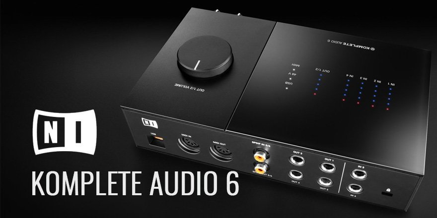 Komplete Audio 6 Audio Interface