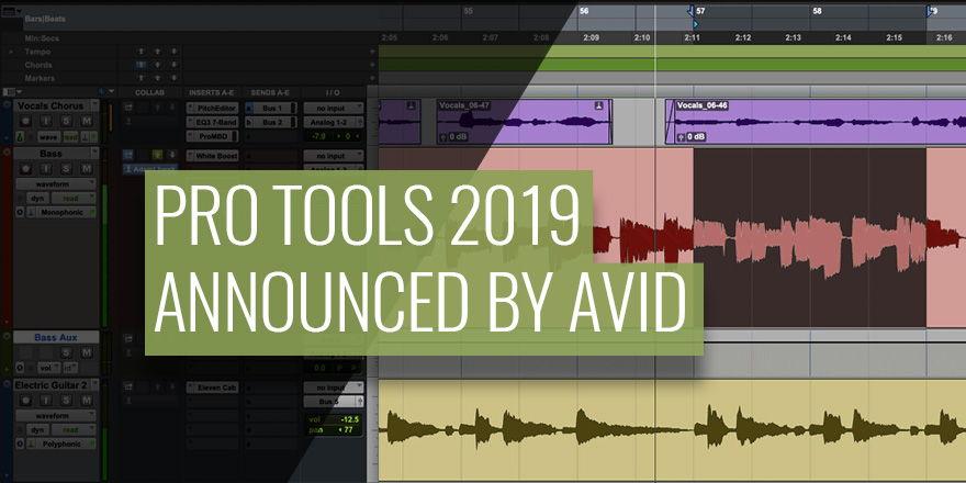 Pro Tools 2019 DAW by AVID