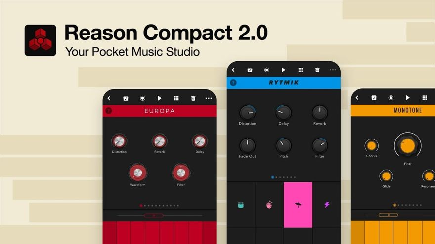 Reason Compact 2.0 Free iOS Music App