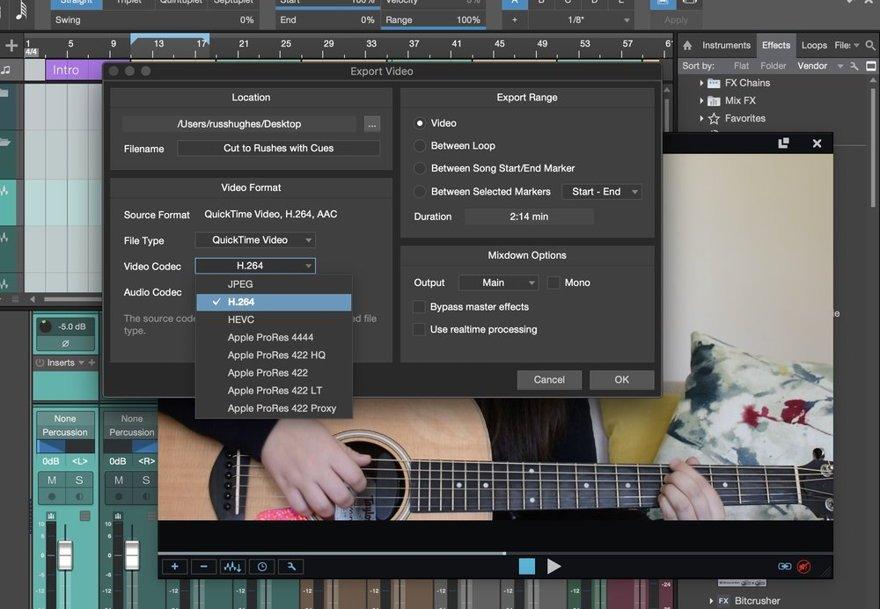 Studio One 4.5 Export Files