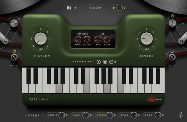 Tape Piano - LoFi VST Plugin