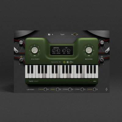 Tape Piano - LoFi VST Virtual Instrument Plugin
