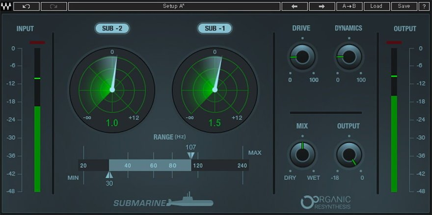 Waves Submarine VST Plugin