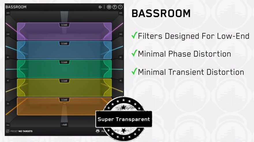 BASSROOM - Bass Mastering VST by Mastering The Mix • ProducerSpot