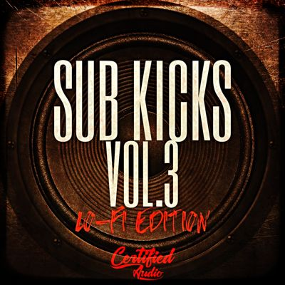 Certified Audio - Sub Kicks 3 - Drum Kit