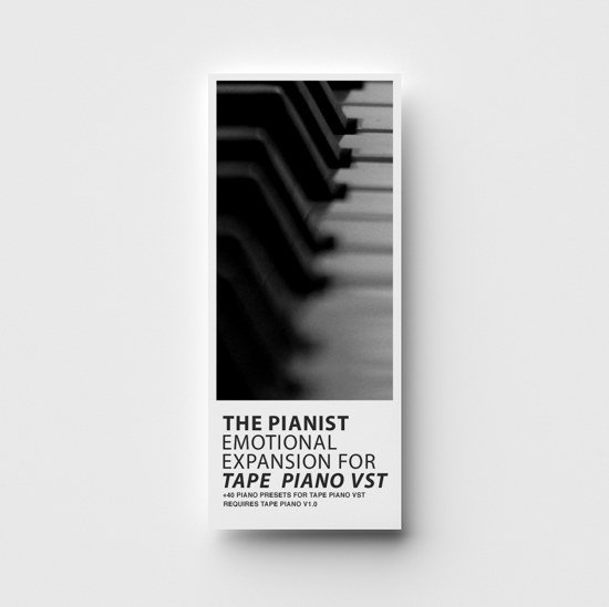 The Pianist - Tape Piano VST Expansion