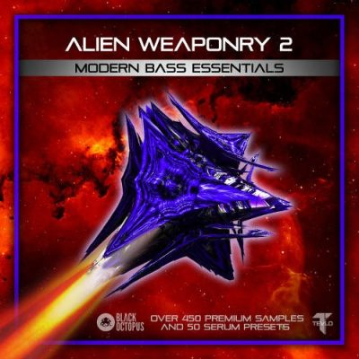 Alien Weaponry 2 - Modern Bass Essentials Dubstep Sample Pack
