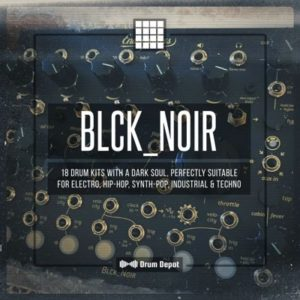 Drum Depot - Blck_Noir - 18 Drum Kits
