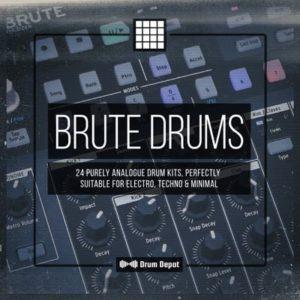 Drum Depot - Drum Brute - 24 Drum Kits
