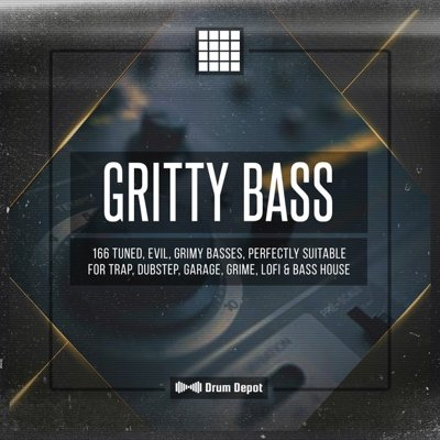 Drum Depot - Gritty Bass Sample Pack