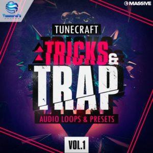 Tunecraft - Tricks & Trap Loops, Massive Presets