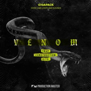 Production Master - Venom - Trap Beat Kits