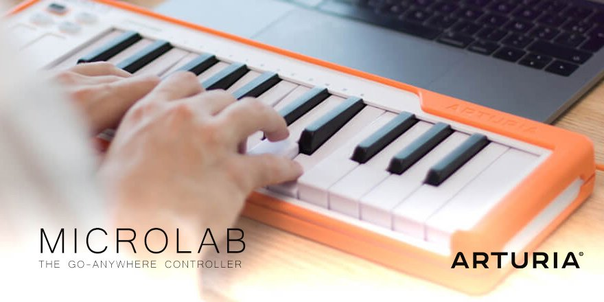 Arturia MicroLab Mobile iPad MIDI Keyboard
