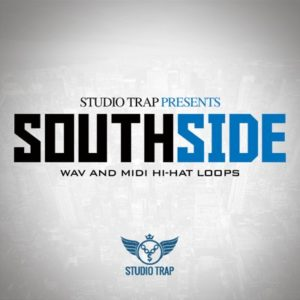 Studio Trap - South Side - Hi-Hats Loops, MIDI Hi-Hats