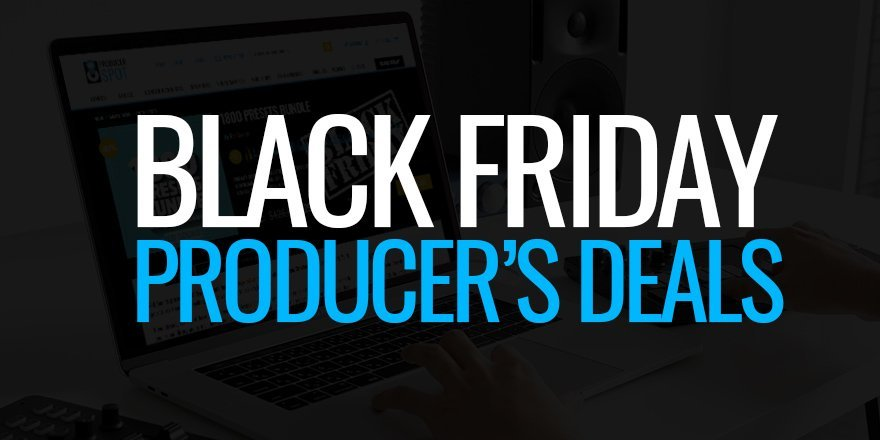 Black Friday Deals - Loops, Sample Packs, VST Plugins