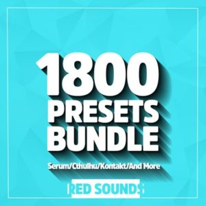 Red Sounds - 1800 Presets Bundle (Serum, Cthulhu, Kontakt)