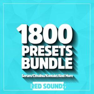 Red Sounds - 1800 Presets Bundle (Serum, Cthulhu, Kontakt)