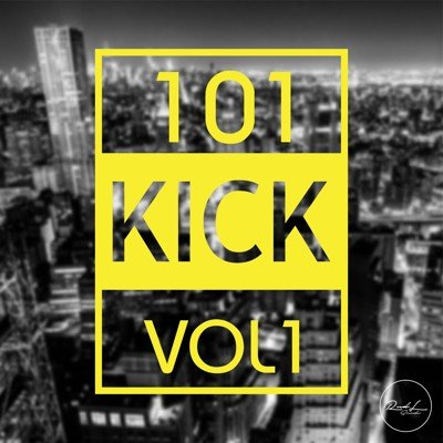 Roundel Sounds - 101 KICK Loops Vol 1