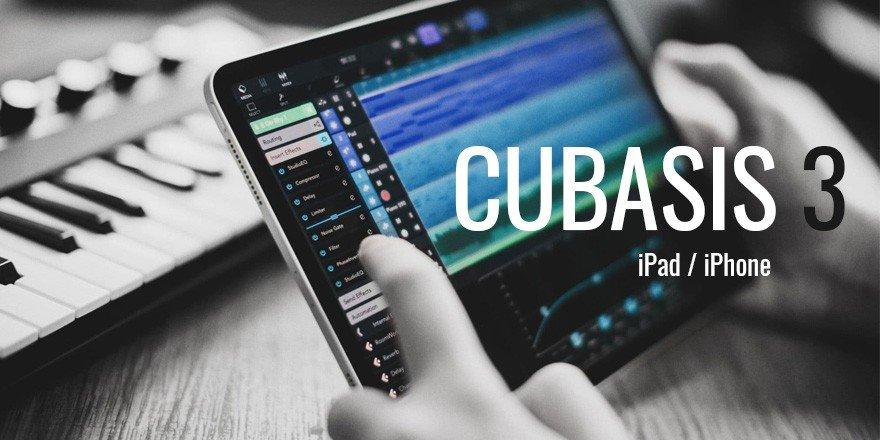 Steinberg Cubasis 3 iOS Mobile DAW