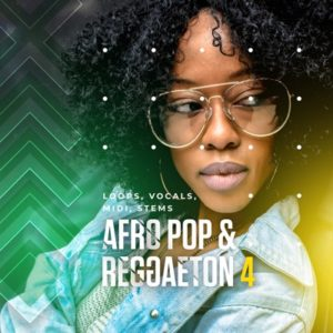 Diginoiz - Afro Pop & Reggaeton 4 (5 Beats Kits)